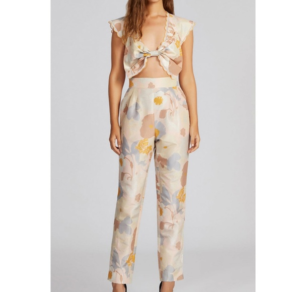 7904dfab791 Alice McCall Pants - Alice McCall Easy On The Eyes Floral Jumpsuit US 2